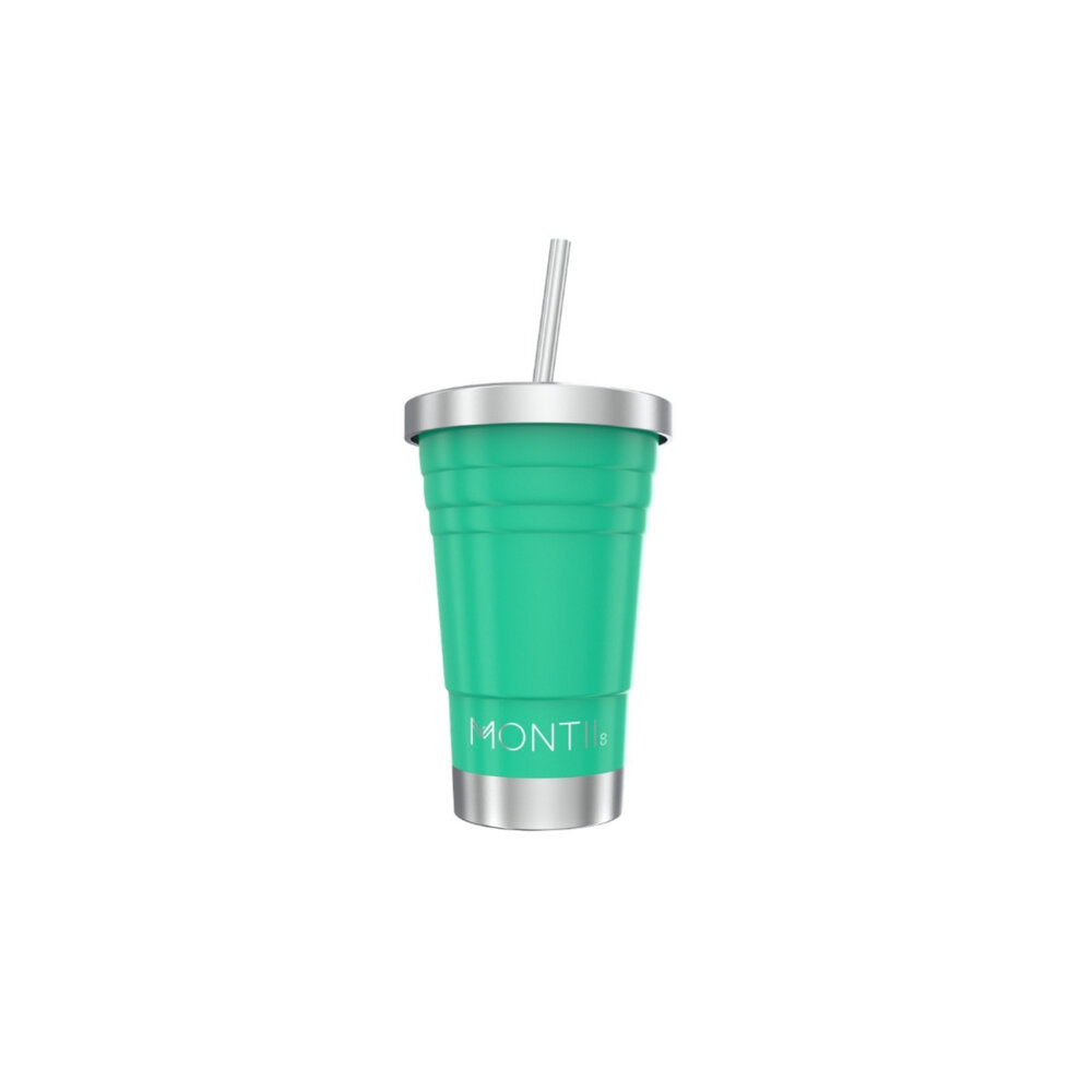 Mini Montii isolert smoothiekopp 275 ml - Green-