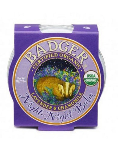 Badger Balms night night