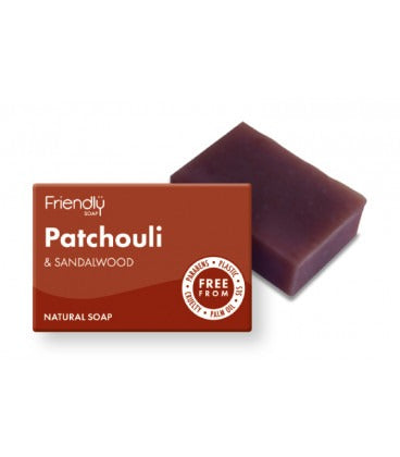 Friendly såpestykke med Patchouli og sandeltre