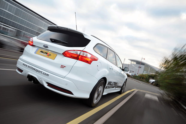Milltek Exhaust System - Ford Focus Mk3 ST 2.0-litre EcoBoost Estate / Sedan / Limosine 2012+