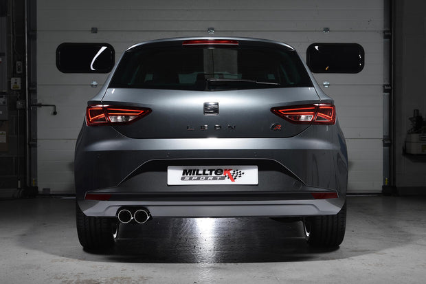 Milltek Exhaust System - Seat Leon FR 2.0 TDI 150 SC and 5-door (manual and DSG-auto)
