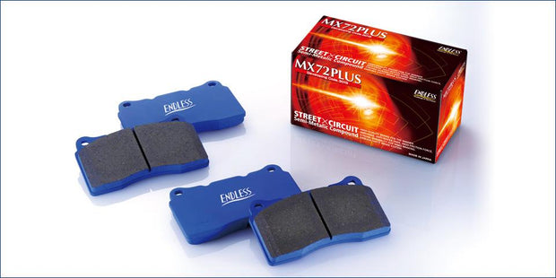 Endless MX72 Plus Performance Brake Pads -  LOTUS Exige 1.8 S1 2000 - 2001 - Rear Brak Pads EIP124