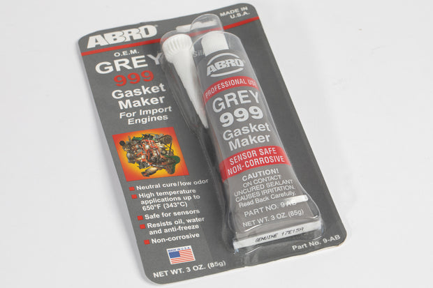 Sealer Abro GREY 999 RTV Silicone Instant Gasket Maker Sealant Adhesive Sensor Safe - automek-servicing-repairs-performance-parts-centre
