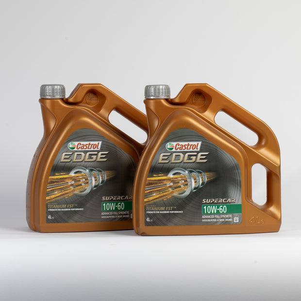 Castrol Edge 10w60 'Supercar' Fully Synthetic Engine Oil - 8 Litres