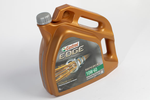 Castrol Edge 10w60 'Supercar' Fully Synthetic Engine Oil - 4 Litres