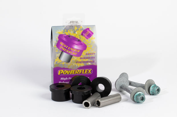 Powerflex Rear Lower Spring Mount Inner Bushes & Toe Bolt Kit - Volkswagen Golf Plus 5M - automek-servicing-repairs-performance-parts-centre