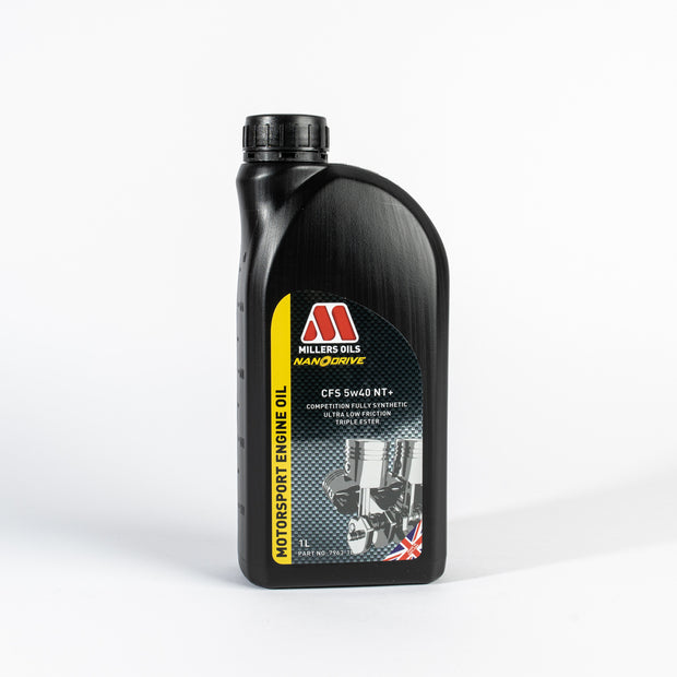 Millers Oils NANODRIVE CFS 5w40 NT+ Full Synthetic Engine Oil - 1 Litre