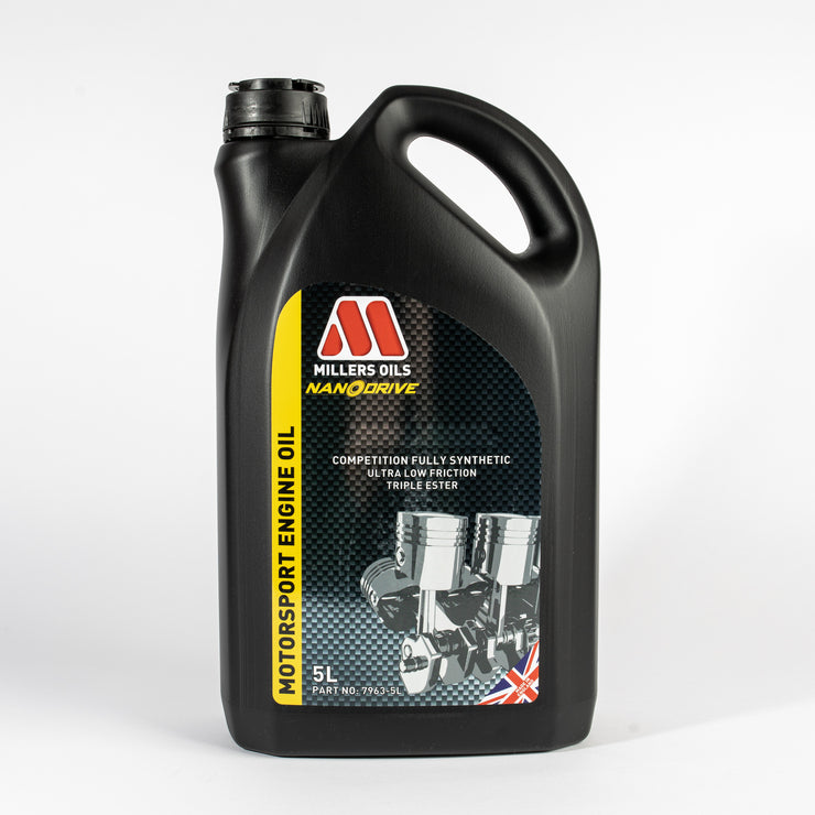 Millers Oils NANODRIVE CFS 10w60 NT+ Full Synthetic Engine Oil - 5 Litres