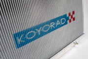 Koyorad Alloy Radiator - Nissan Skyline CBA/UA VQ35DE 36mm Core Wider Fin Pitch