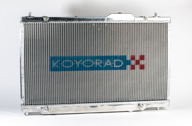 Koyorad Alloy Radiator - Nissan Sunny/Pulsar SR18DE 53mm Core Wider Fin Pitch