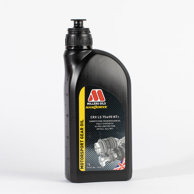Millers Oils CRX LS 75w90 NT+ Competition Full Synthetic Transmission Oil - 1 Litre