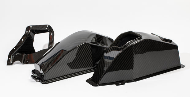HKS Carbon Airbox Upgrade Kit - FK8 Honda Civic Type R