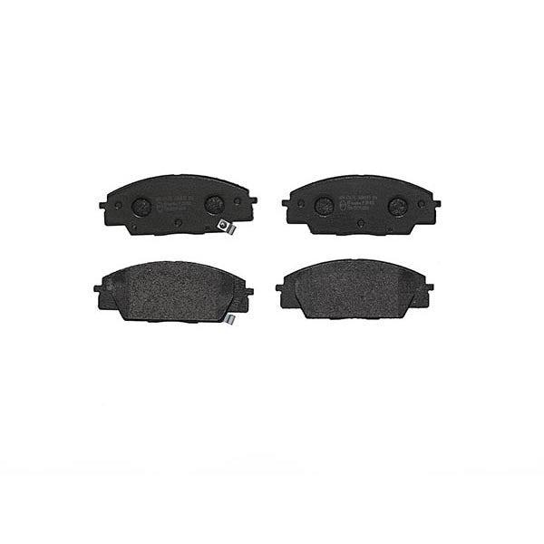 Set Of Front OE Replacement Brembo Brake Pads - Honda Civic Type R FN2 - automek-servicing-repairs-performance-parts-centre