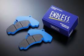 Endless CC38(ME20)/CC40(ME22) Circuit Brake Pads - ALFA ROMEO Giulietta 1.4 Turbo 170 (CHECK) 2010 - Onwards - Rear Brake Pads EIP147