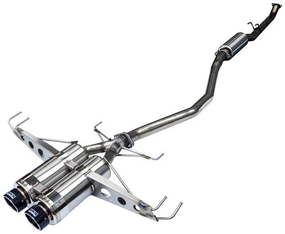 HKS Hi Power Spec L FK8 Honda Civic Type R Exhaust - automek-servicing-repairs-performance-parts-centre