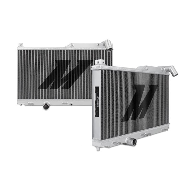 Mishimoto Performance Aluminium Radiator - Nissan Silvia 180SX / 200SX S13 SR20DET 3 Row 1989-1995 - automek-servicing-repairs-performance-parts-centre