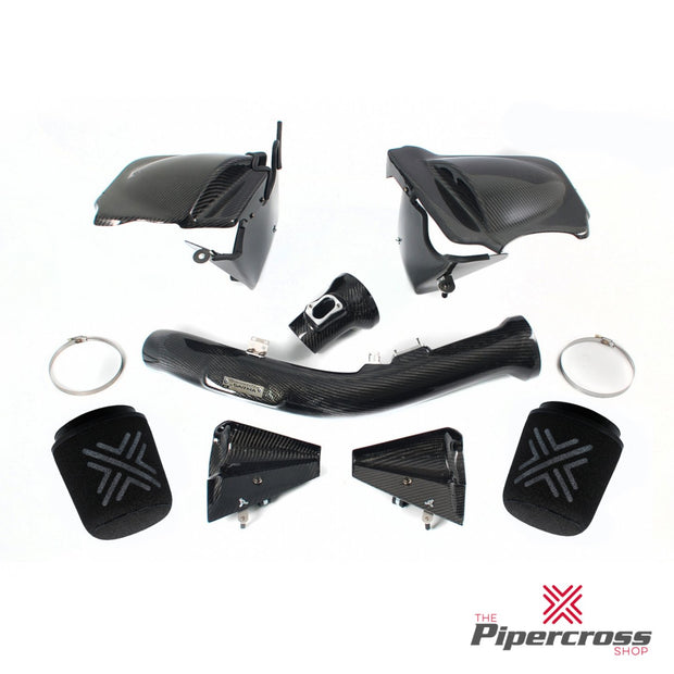 Pipercross V1 Carbon Fibre Air Box - PXV1-36 - BMW 3 Series F80 M3 3.0 2014- - automek-servicing-repairs-performance-parts-centre