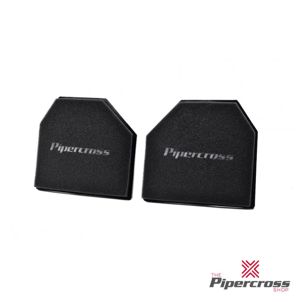 Pipercross Pair Of Unique Performance Panel Filter - PP1923 (Length 237mm x Width 213mm) - BMW 3 Series F80 M3 3.0 2014- - automek-servicing-repairs-performance-parts-centre