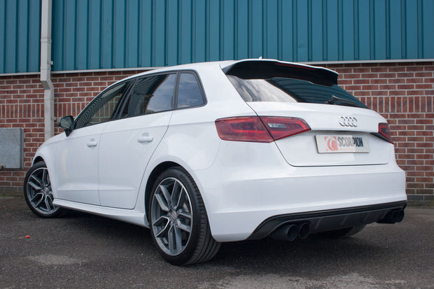 Scorpion Exhaust - Audi S3 2.0T 8V 3 Door & Sportback