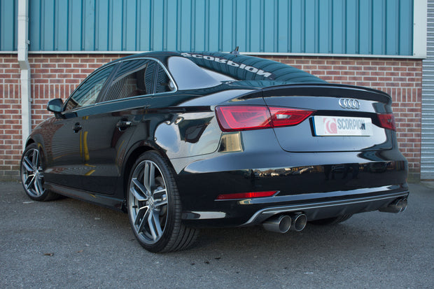 Scorpion Exhaust - Audi S3 2.0T 8V Saloon
