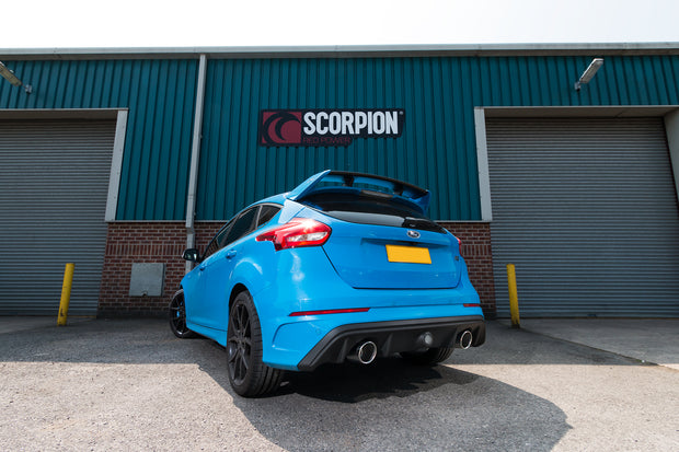 Scorpion Exhaust - Ford Focus MK3 RS  Non GPF Model Only