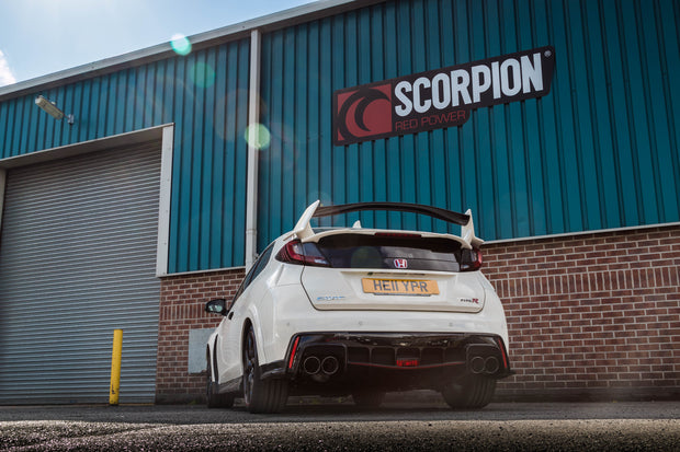 Scorpion Exhaust - Honda Civic Type R FK2 (RHD)
