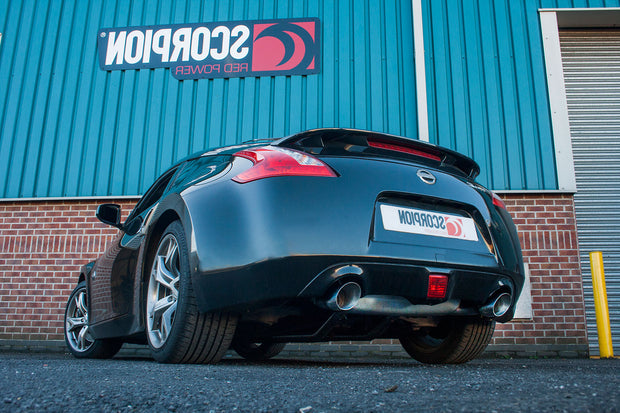 Scorpion Exhaust - Nissan 370Z  Non GPF Model Only