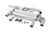 Milltek Exhaust System - Audi RS3 Saloon / Sedan 400PS (8V MQB) - Non-OPF/GPF Models  2017-2018