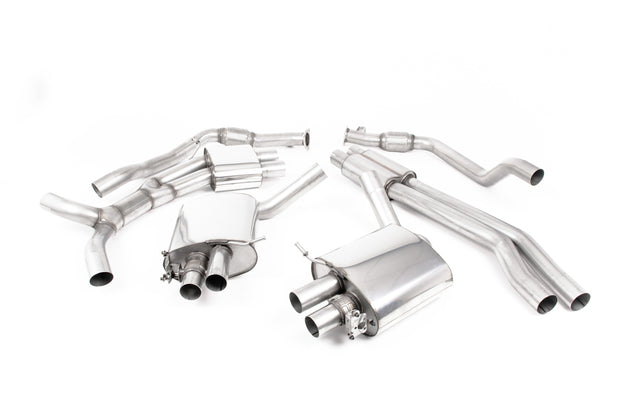 Milltek Exhaust System - Audi RS5 B9 2.9 V6 Turbo Coupe (Non OPF/GPF Models) 2017-2018