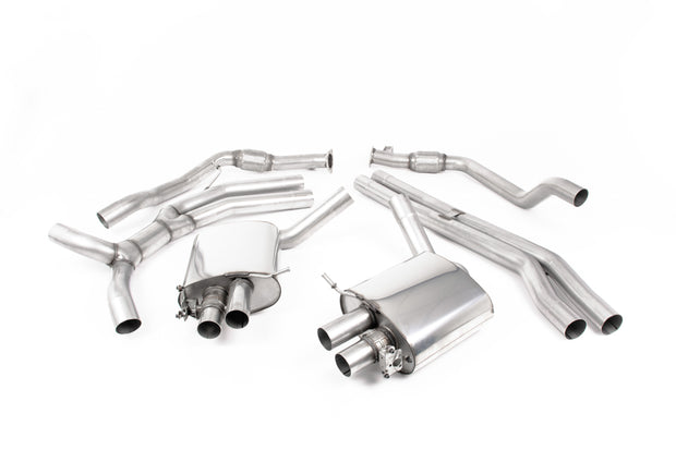 Milltek Exhaust System - Audi RS5 B9 2.9 V6 Turbo Coupe (OPF/GPF Models) 2019+