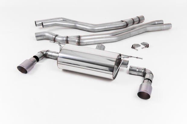 Milltek Exhaust System - BMW 1 Series M140i 3 & 5 Door (F20 & F21 LCI - Non-OPF models only) 2015-2018
