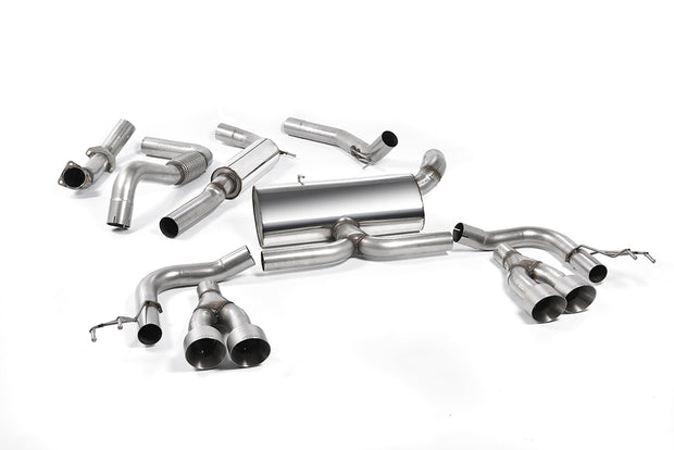 Milltek Exhaust System - Honda Civic Type R FK2 Turbocharged 2.0 litre i-VTEC (LHD models only)