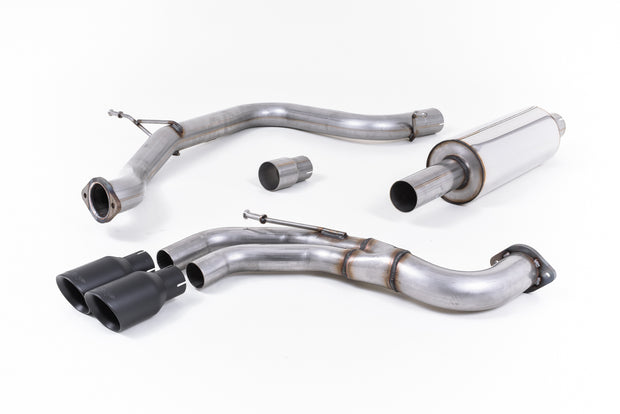 Milltek Exhaust System - Seat Leon FR 2.0 TDI 184PS SC and 5-door (manual and DSG-auto) 2013+