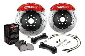 Stop Tech Big Brake Kit BBK - Nissan 370Z Front