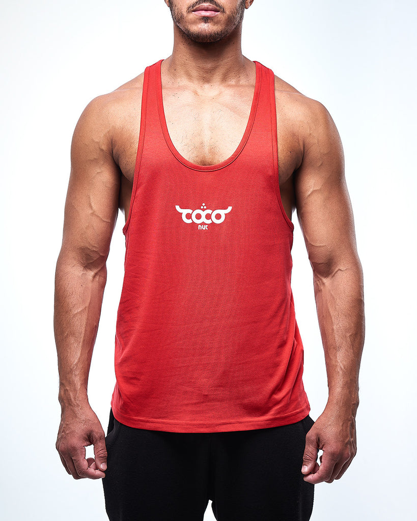 Logo Tank Top - Red