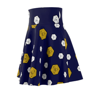 Open image in slideshow, Critical Navy Skirt