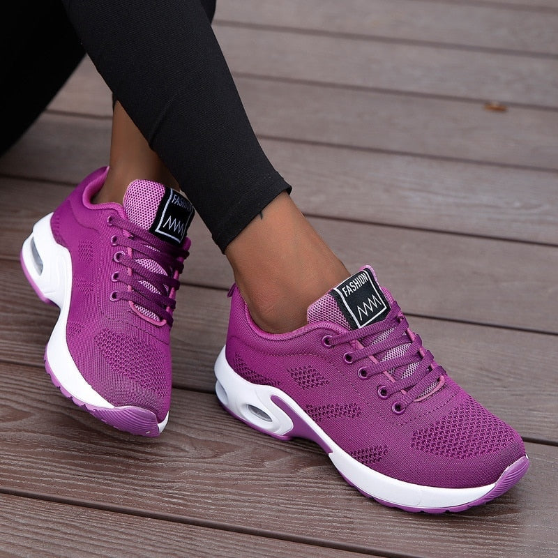 Fashion Women Lightweight Sneakers Running Shoes Outdoor Sports Shoes