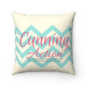 Cunning Action Pillow: Spun