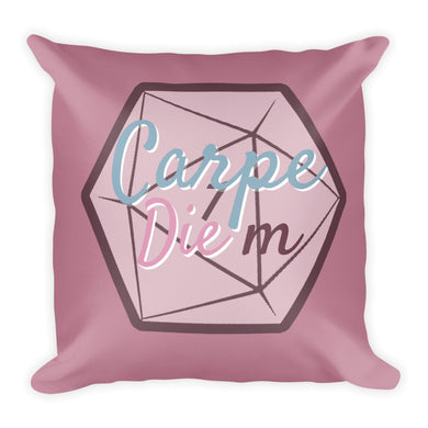 Carpe Die-m Pillow