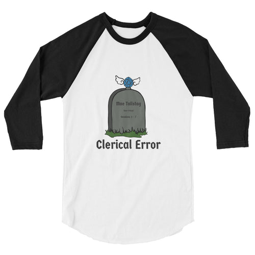 Unisex Clerical Error Raglan