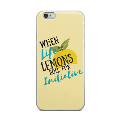Lemon Initiative Iphone Case