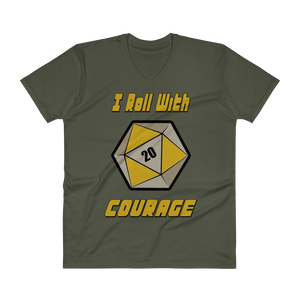 Courage Men's V-Neck