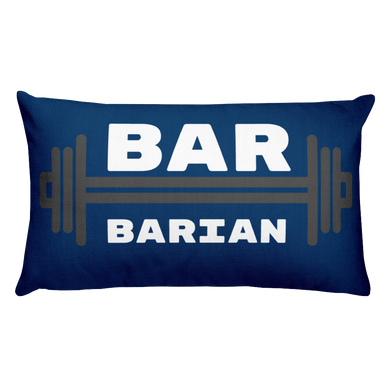 Bar-Barian Lounge Pillow
