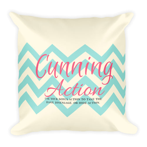 Cunning Action Pillow