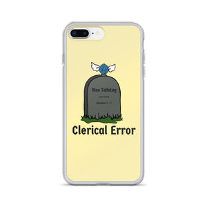 Open image in slideshow, Clerical Error Iphone Case