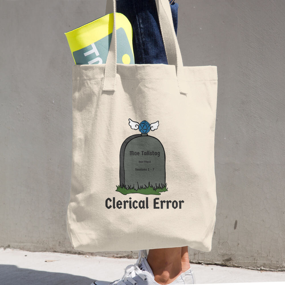 Clerical Error Tote