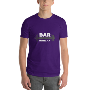 Bar-Barian Mens Crew White