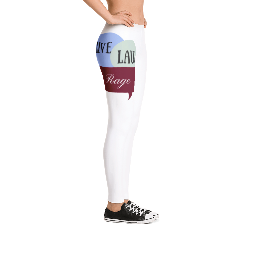 Live Laugh Rage Lounge Leggings