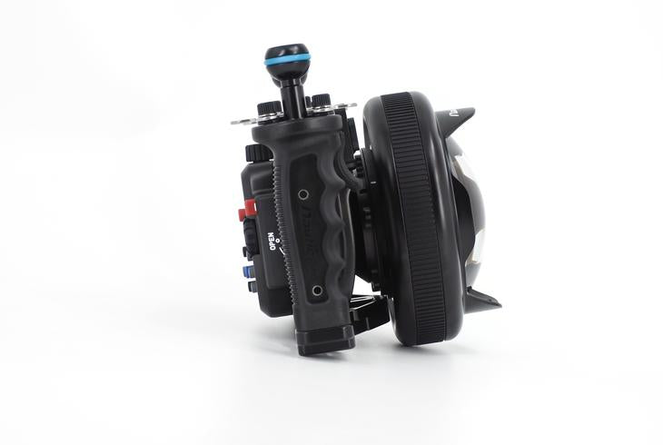 Nauticam Wet Wide Lens Compact (WWL-C) 130 Deg. FOV with Compatible 24mm Lenses (incl. float collar)