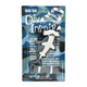 Dive Insipre Luggage Tag Mocha Hammerhead Shark